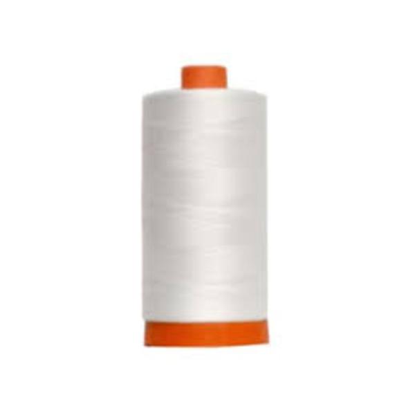 Aurifil Cotton Mako 40 wt Thread 1094 yards - White #2024