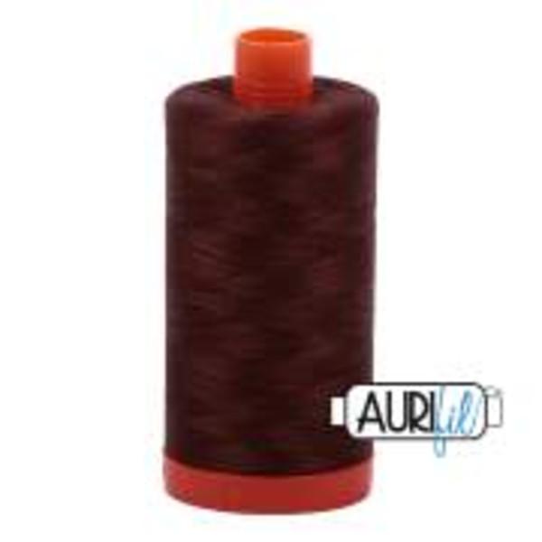 Aurifil 50wt 1422yds Chocolate -2360