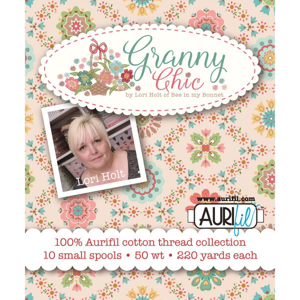Lori Holt Granny Chic Aurifil Thread Box