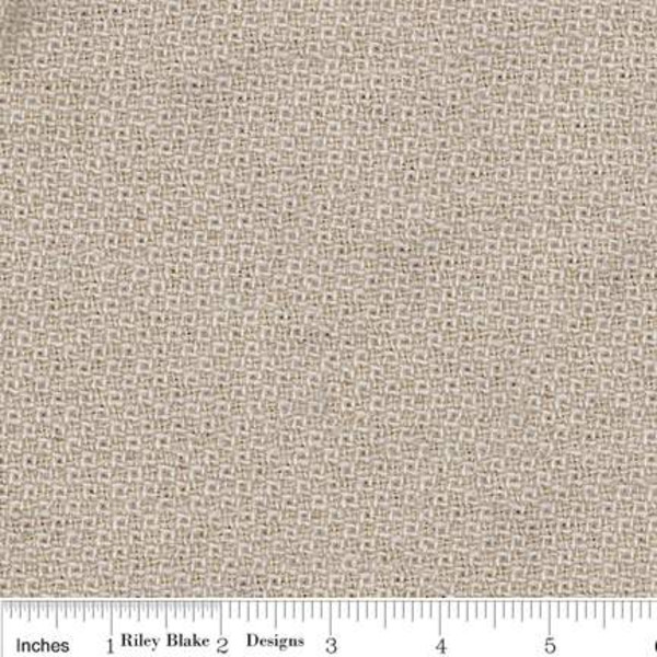 Stacy West Woven Wool Dot Cream
