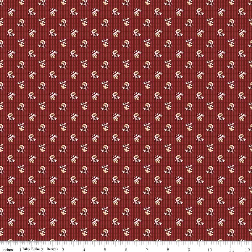 RILEY- Garnet Plaid Red