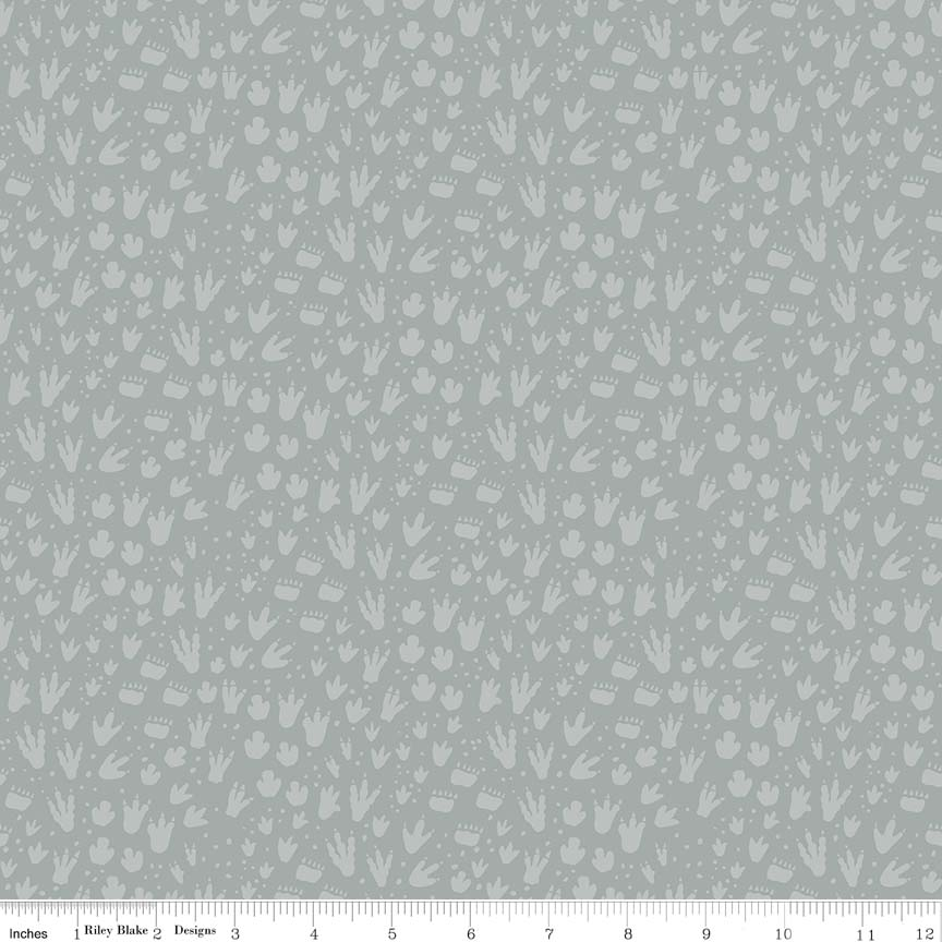 Fossil Footprint Gray C6615