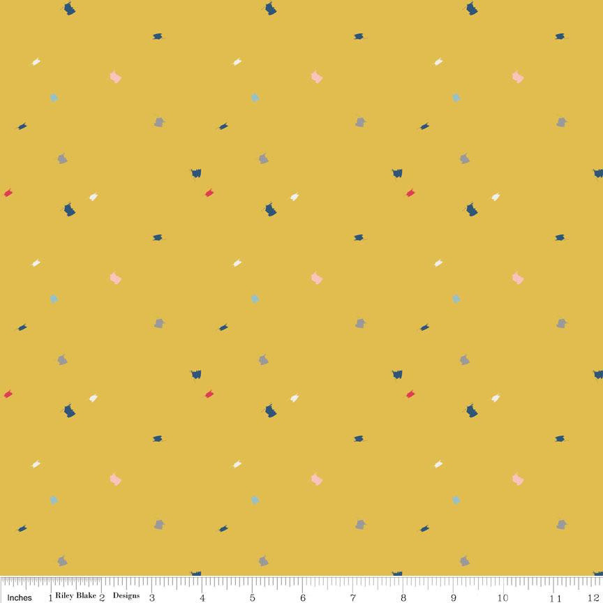 Diary Foxrain Yellow