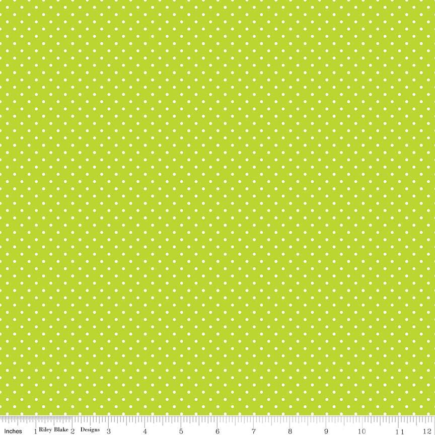 Swiss Dot Lime