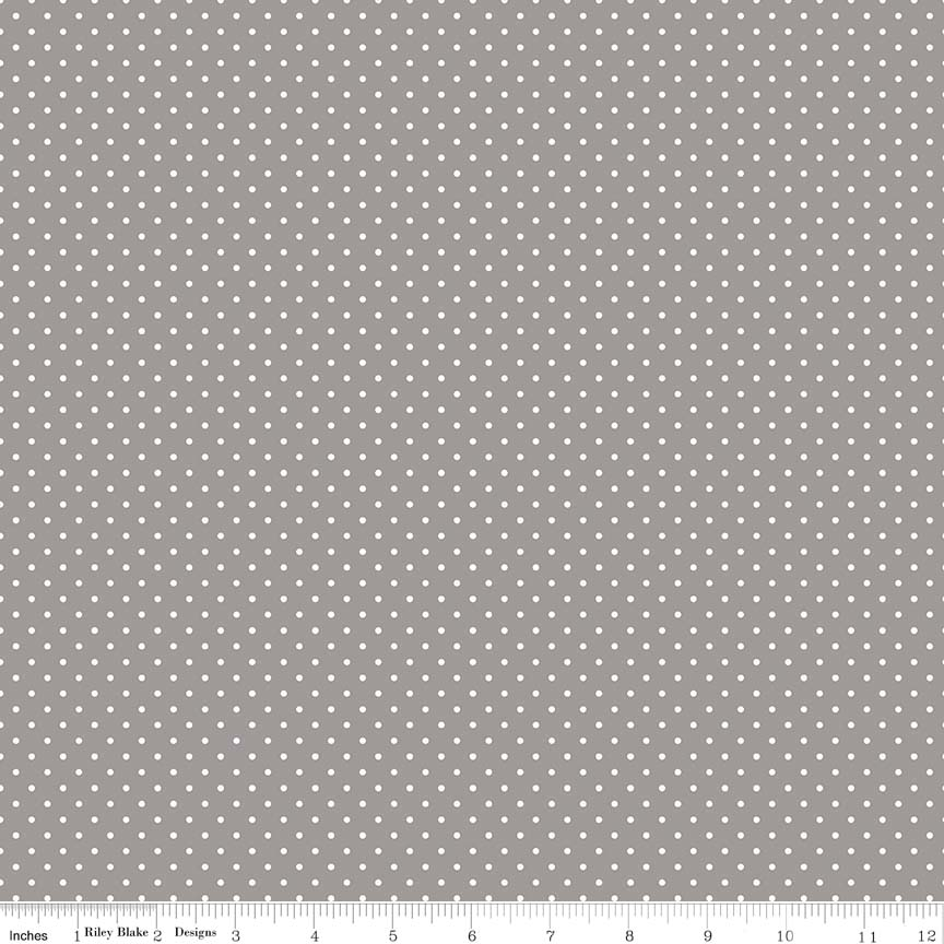 Swiss Dot Gray