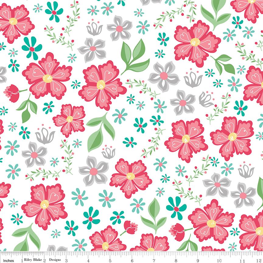Flora Main White