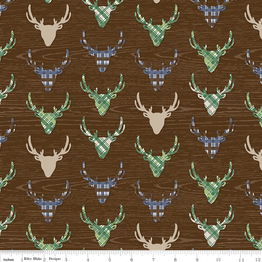 Outdoors C6752 Deer Brown