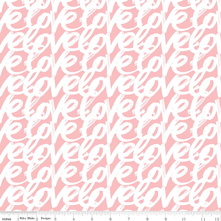 Love Story<br>Words - C7073-PINK