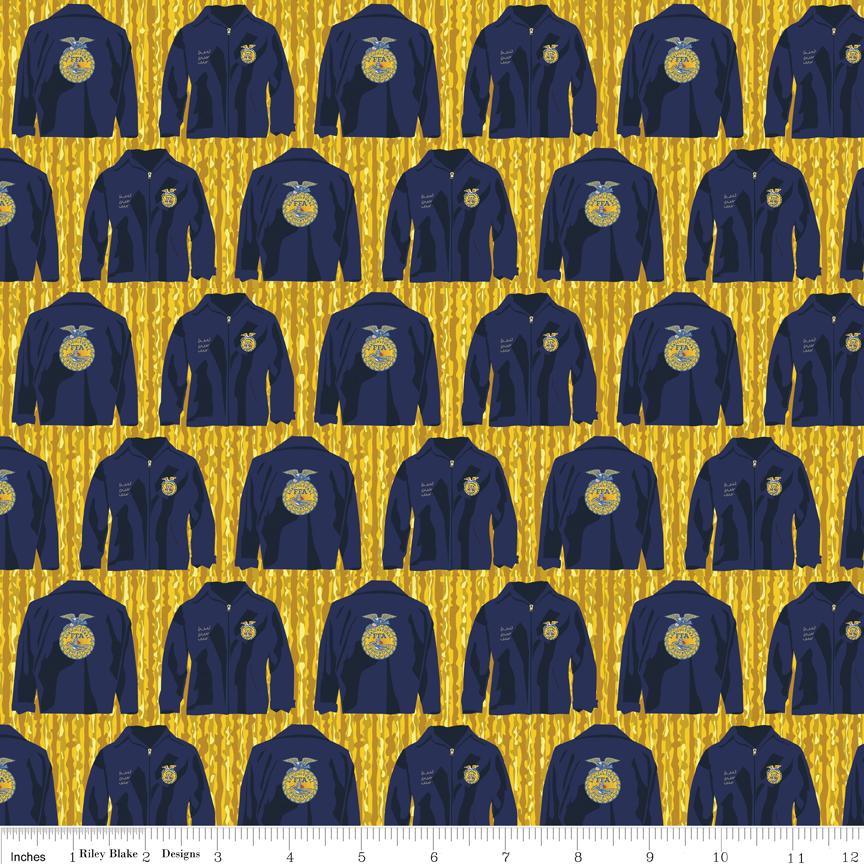 FFA Jacket Gold
