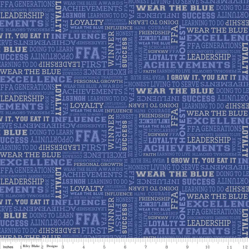 FFA Text Blue