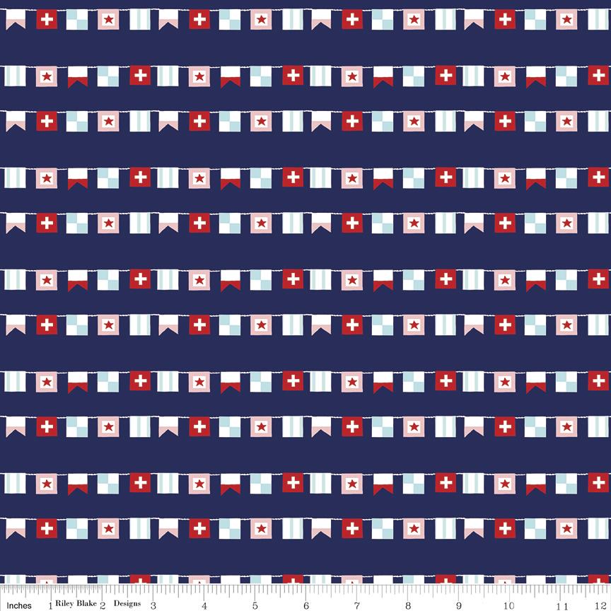 Seaside Flags Navy
