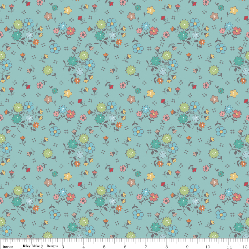 Autumn Love Main Blue C7360