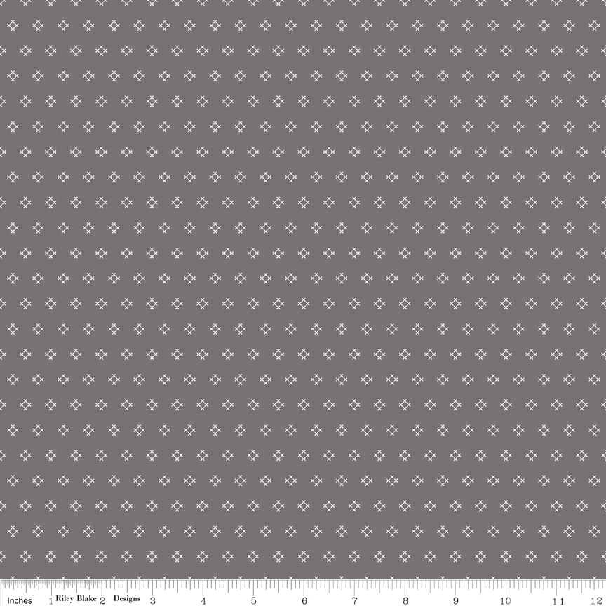 Autumn Love Cross Stitch Gray C7365