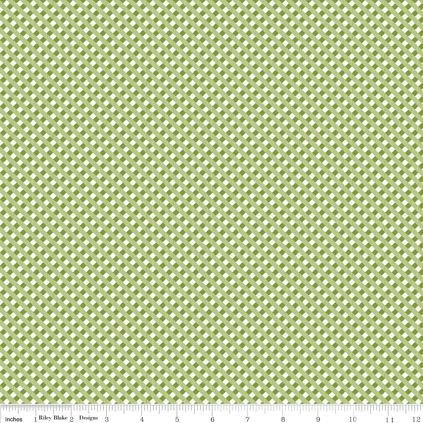 Autumn Love Gingham Green