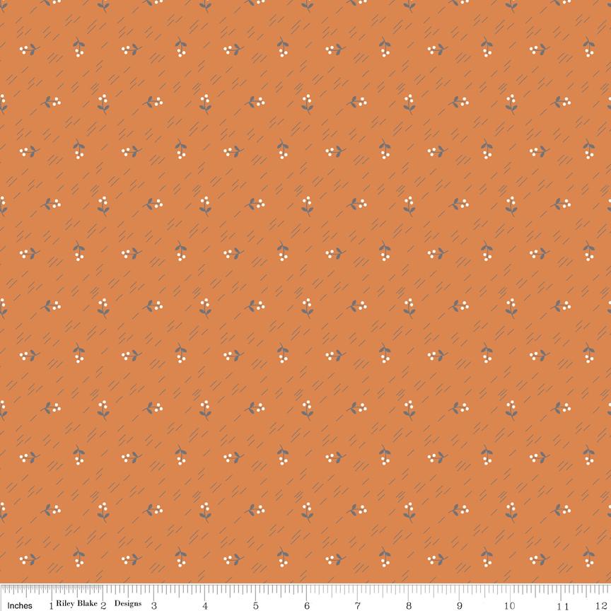 Autumn Love Berries Orange C7371