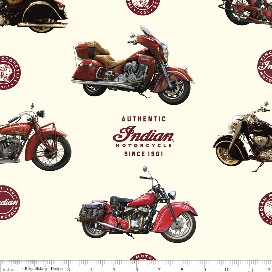 Indian Motorcycle® Main Cream