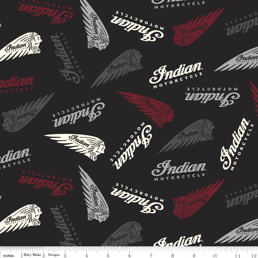 Indian Motorcycle  Logos Black #C7381