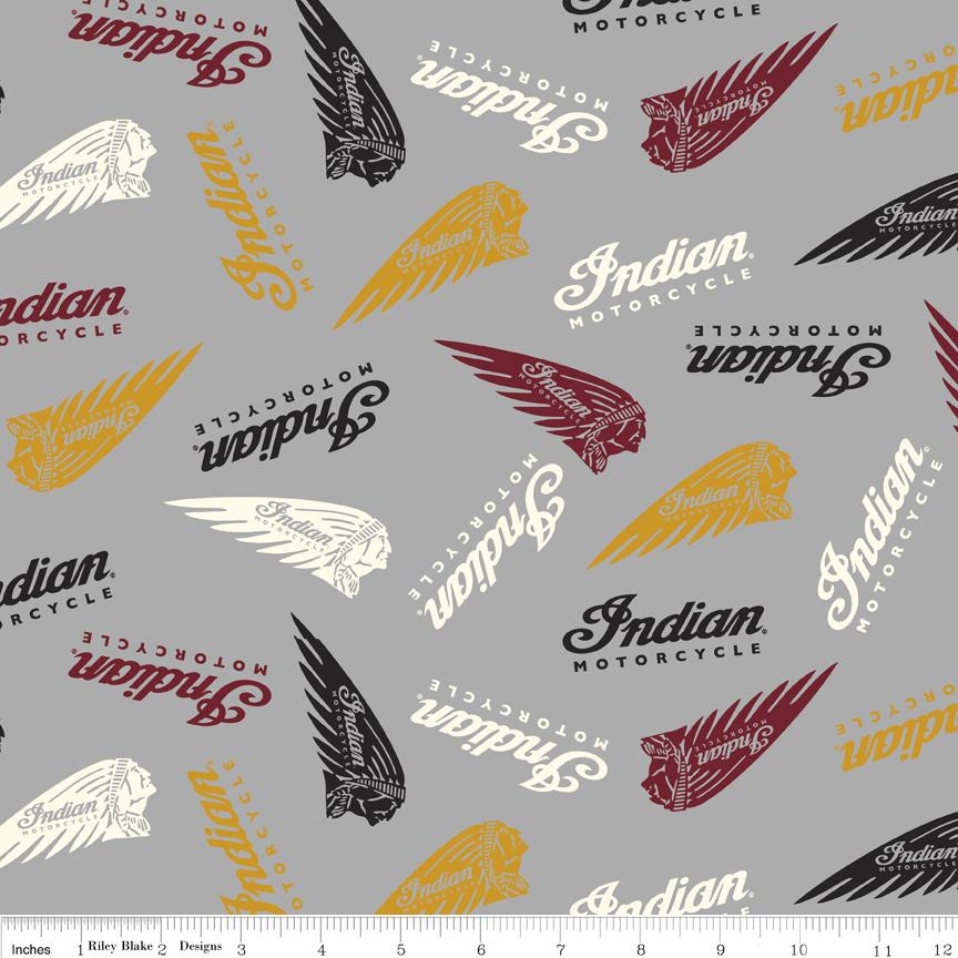 Indian Motorcycle? Logos Gray