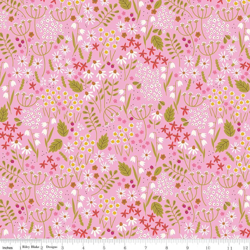 Wild Bouquet Wildflowers Pink