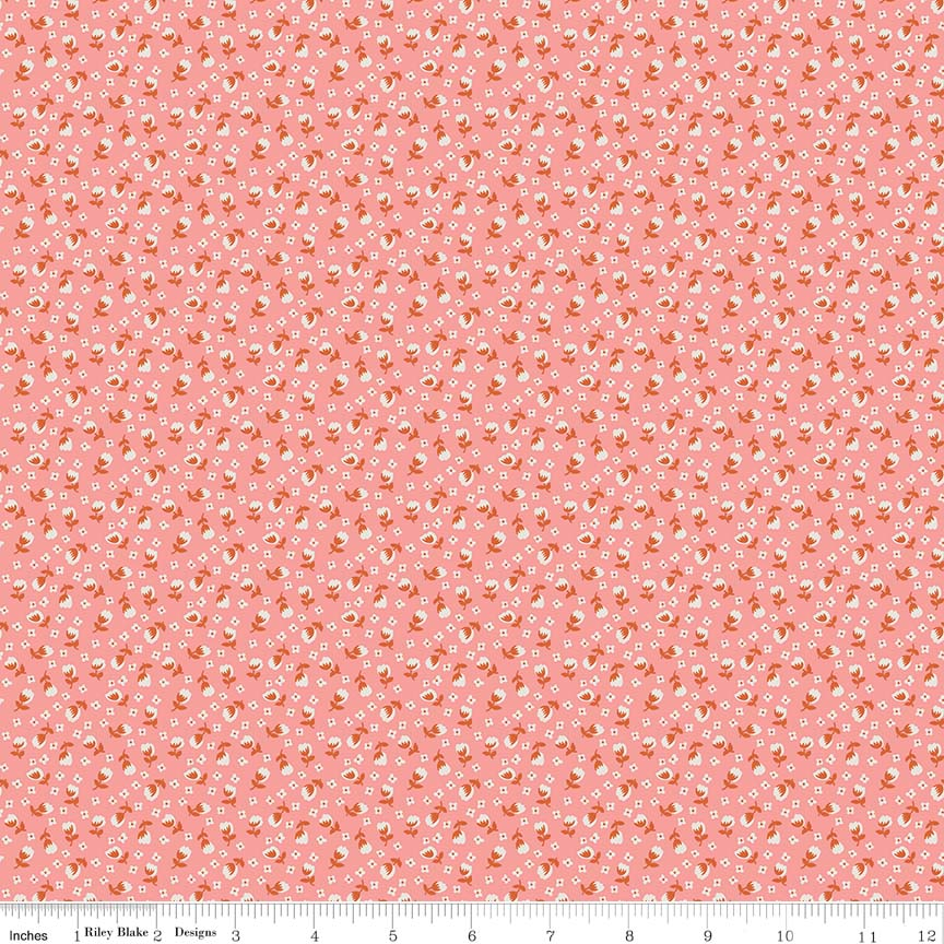 Lemonade Sundae - Small Floral Pink