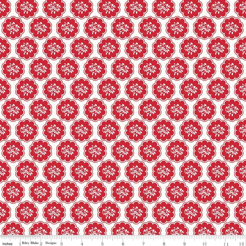 So Ruby Scallop White C7692-WHITE