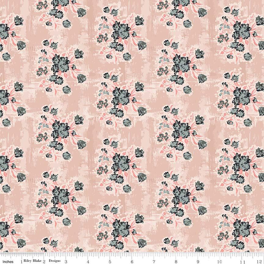 Abbie Floral Pink C7711