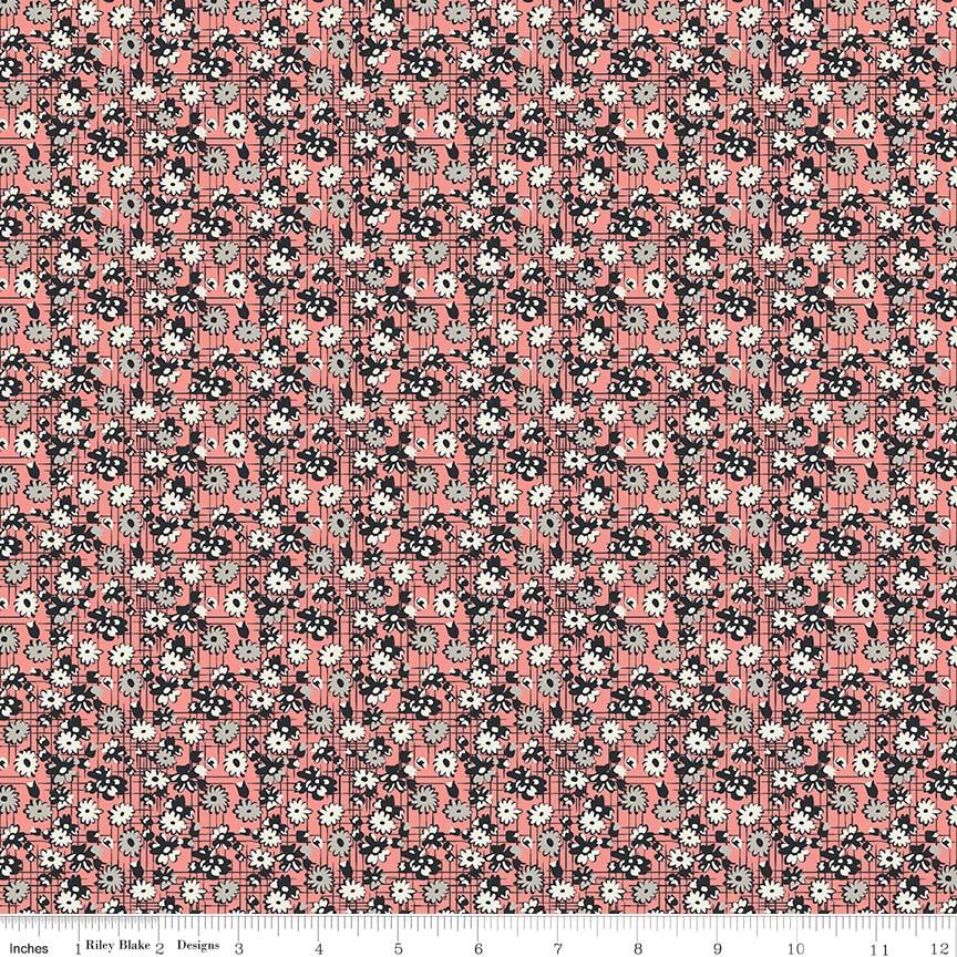 Abbie Garden Coral C7712