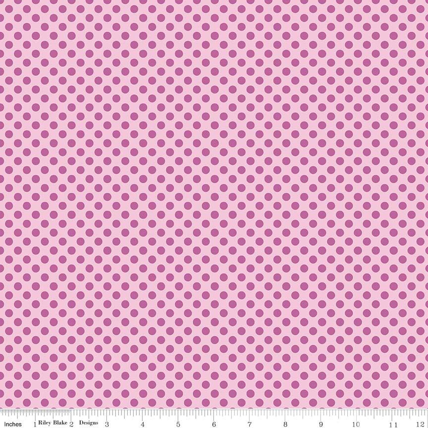 Fairy Garden Dot Pink