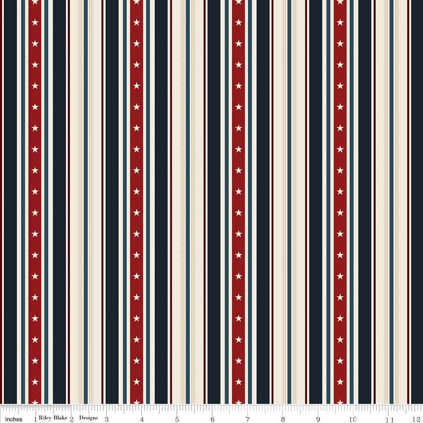 American Heritage Stripe Navy