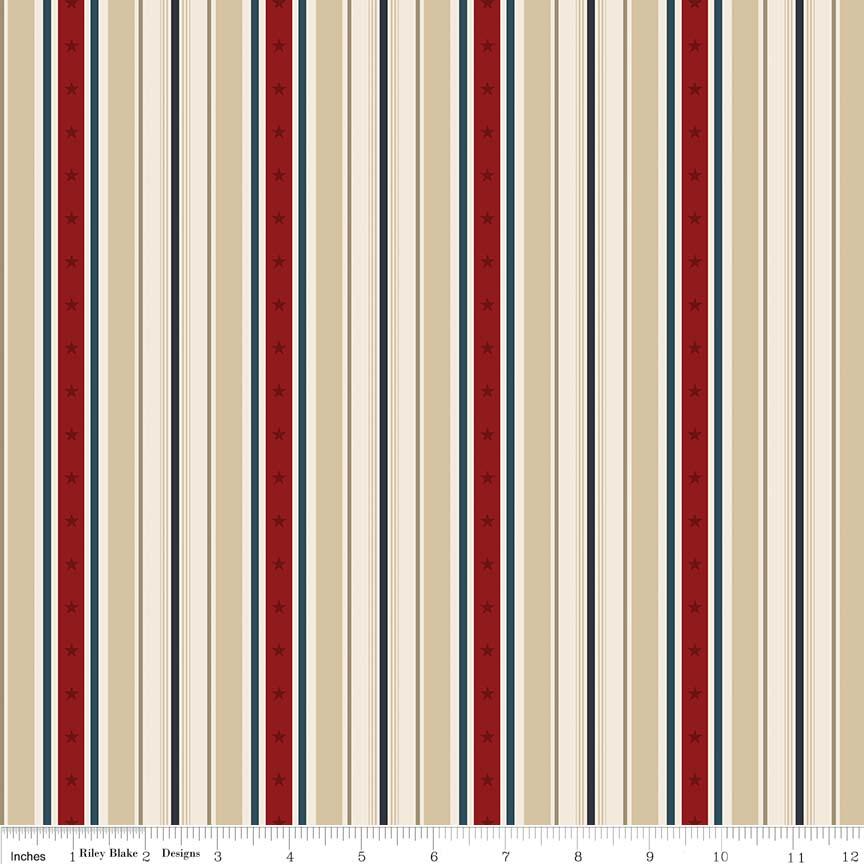 American Heritage Stripe Tan