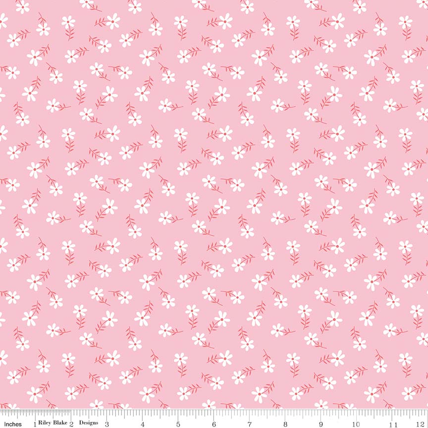 Glamper-licious Daisy Pink Flannel