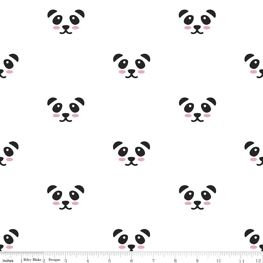 Panda White Double Gauze
