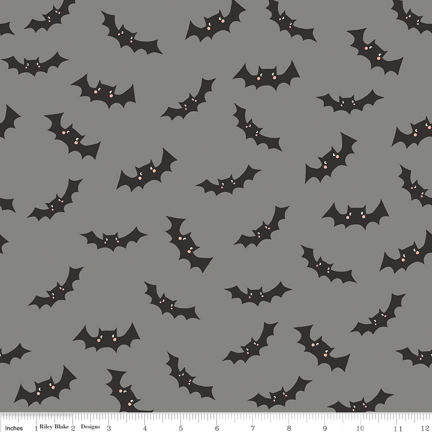 Cats Bats and Jacks Glow in the Dark Bats Gray