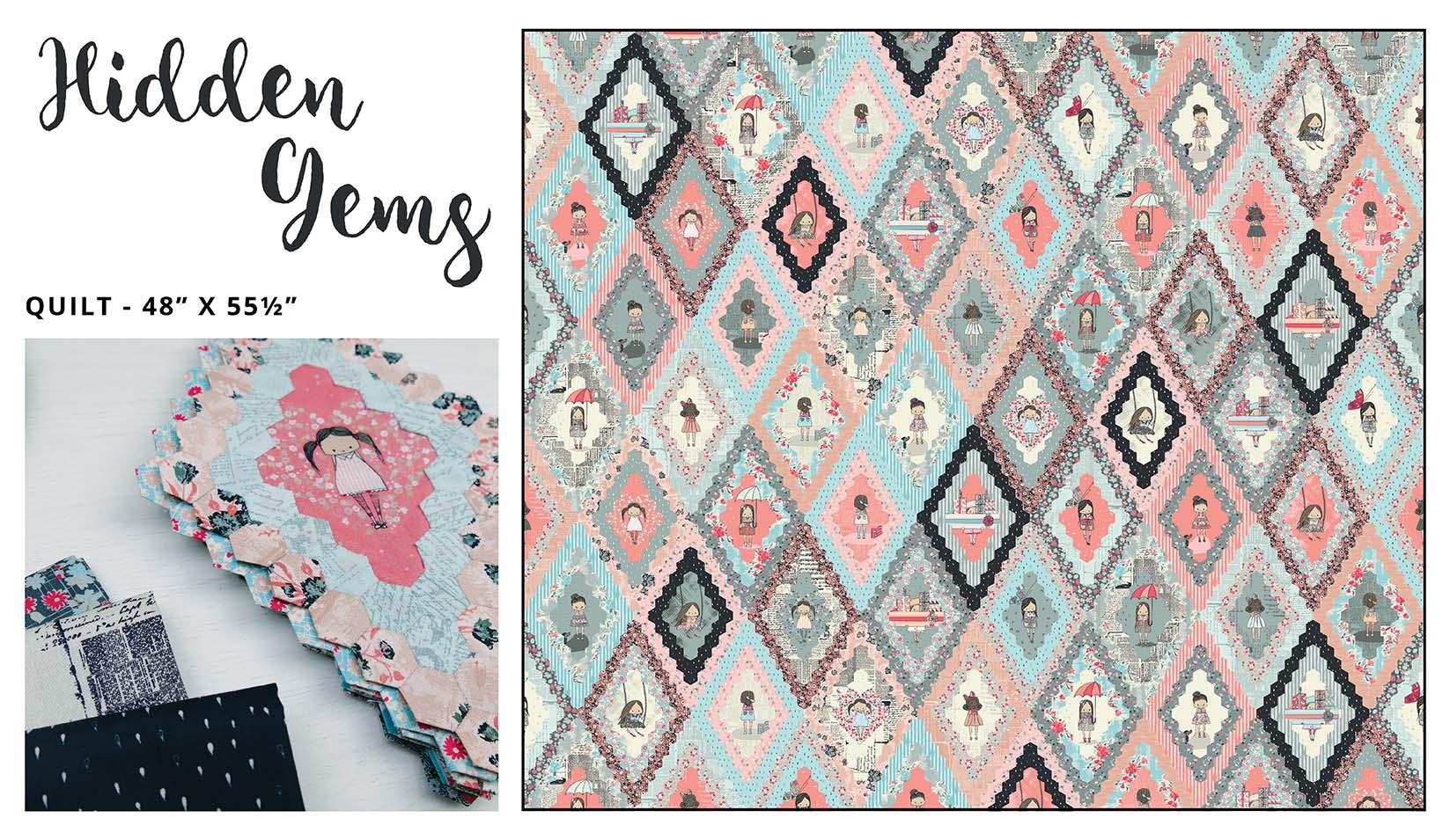 Hidden Gems Quilt Pattern