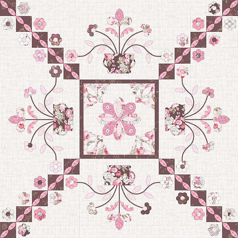 Sue Daley Designs - Homeward Bound Quilt Pattern