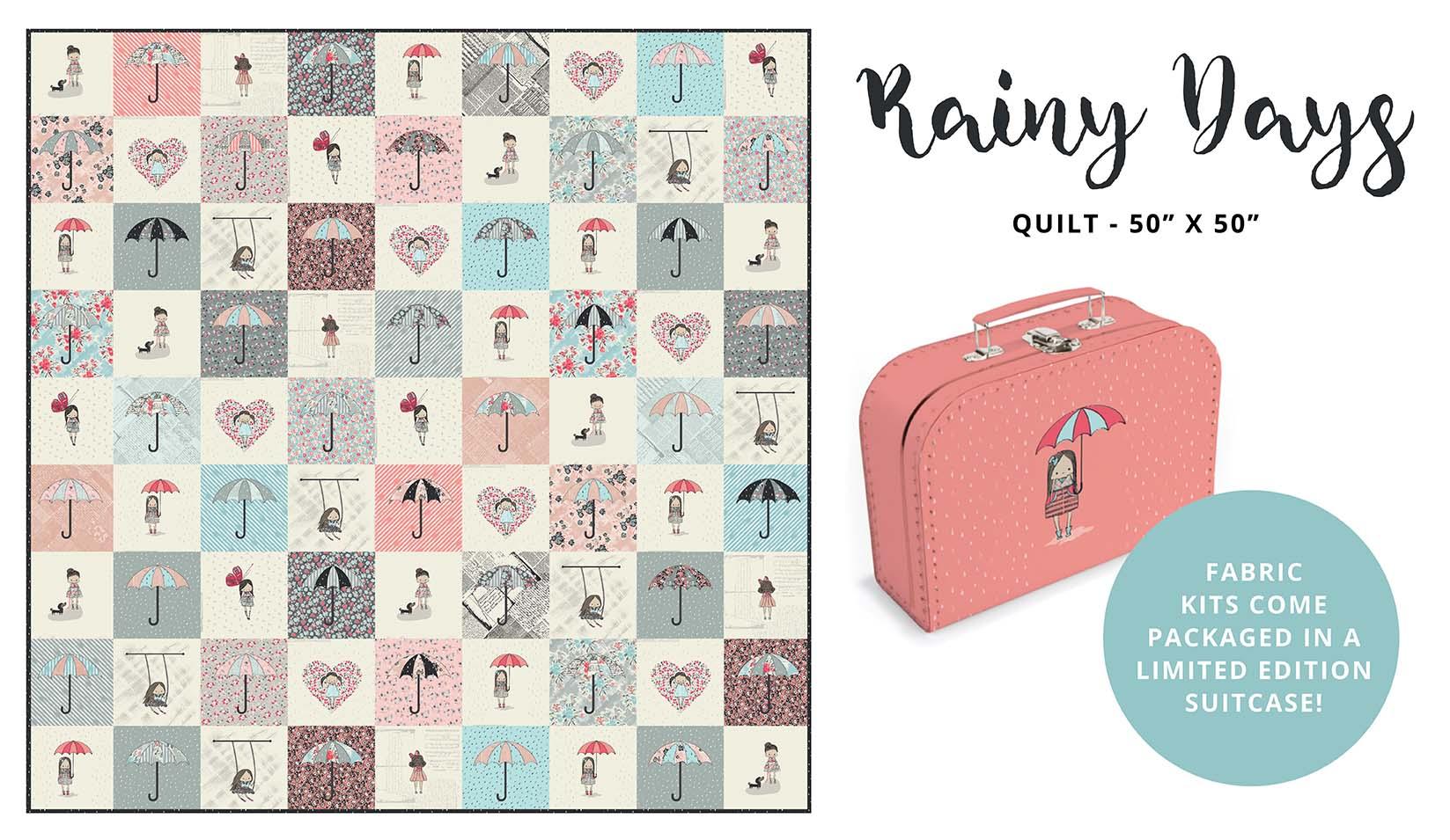 Sue Daley Designs - Rainy Days Suitcase Kit