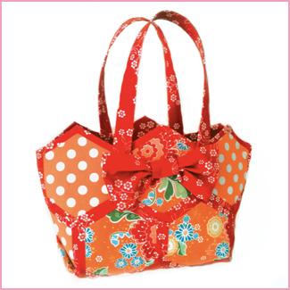 Sue Daley Designs  - The Brighter Side - Hexagon Bag