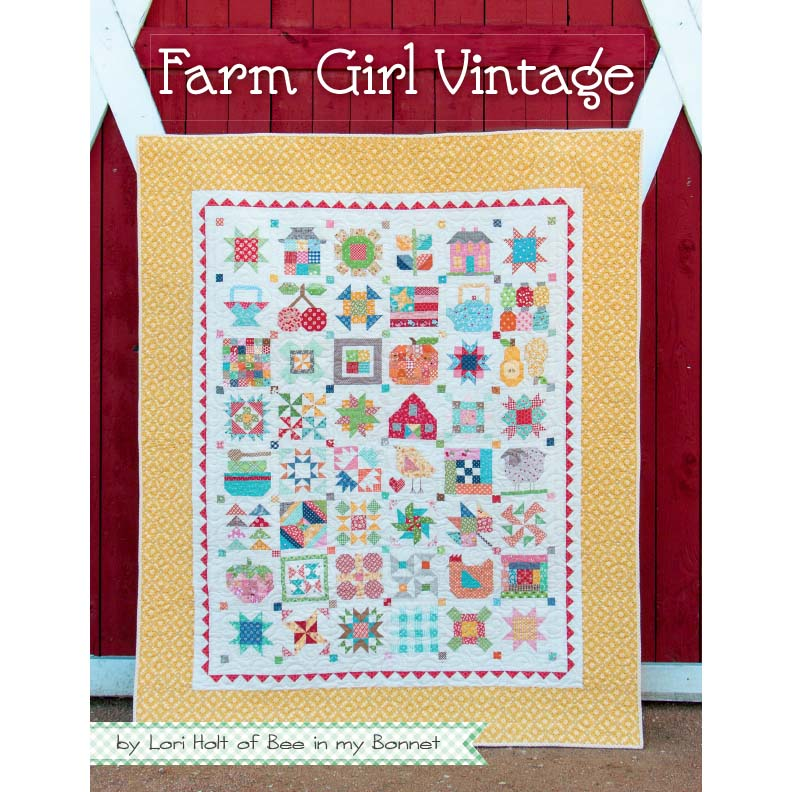 Its Sew Emma Farm Girl Vintage Book by Lori Holt