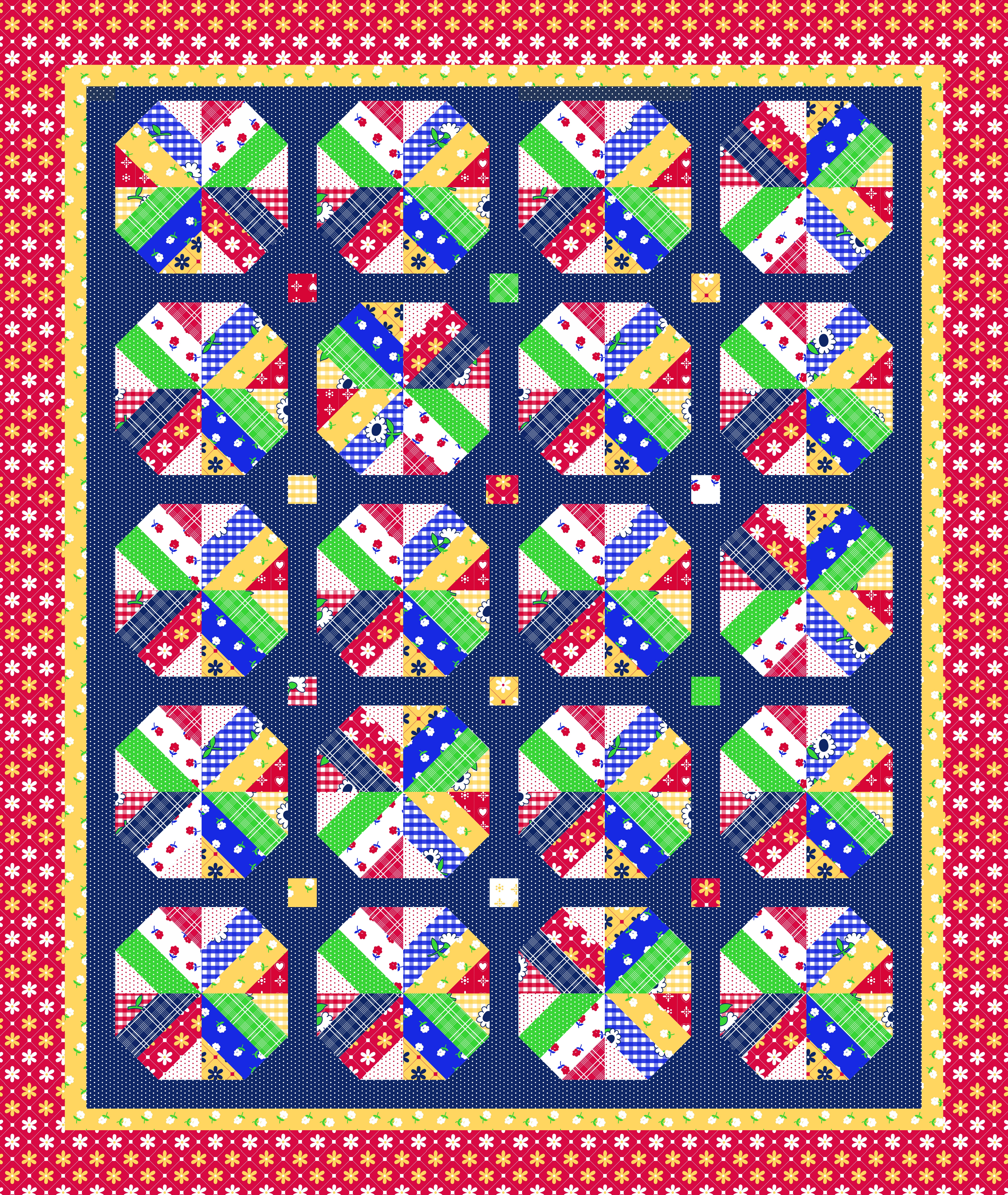 A Bushel and a Peck Quilt Pattern