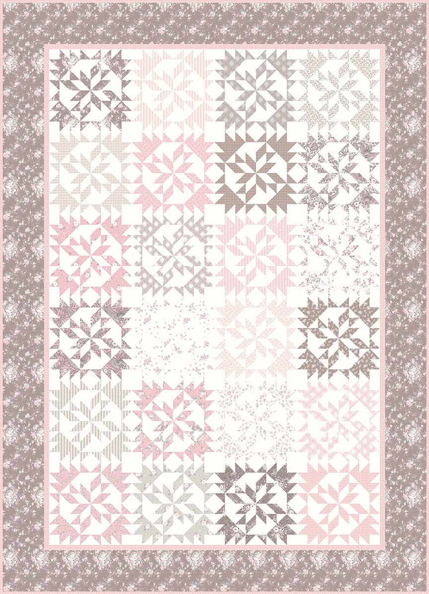 p124-Audrey Quilt Pattern Planted Seed Designs