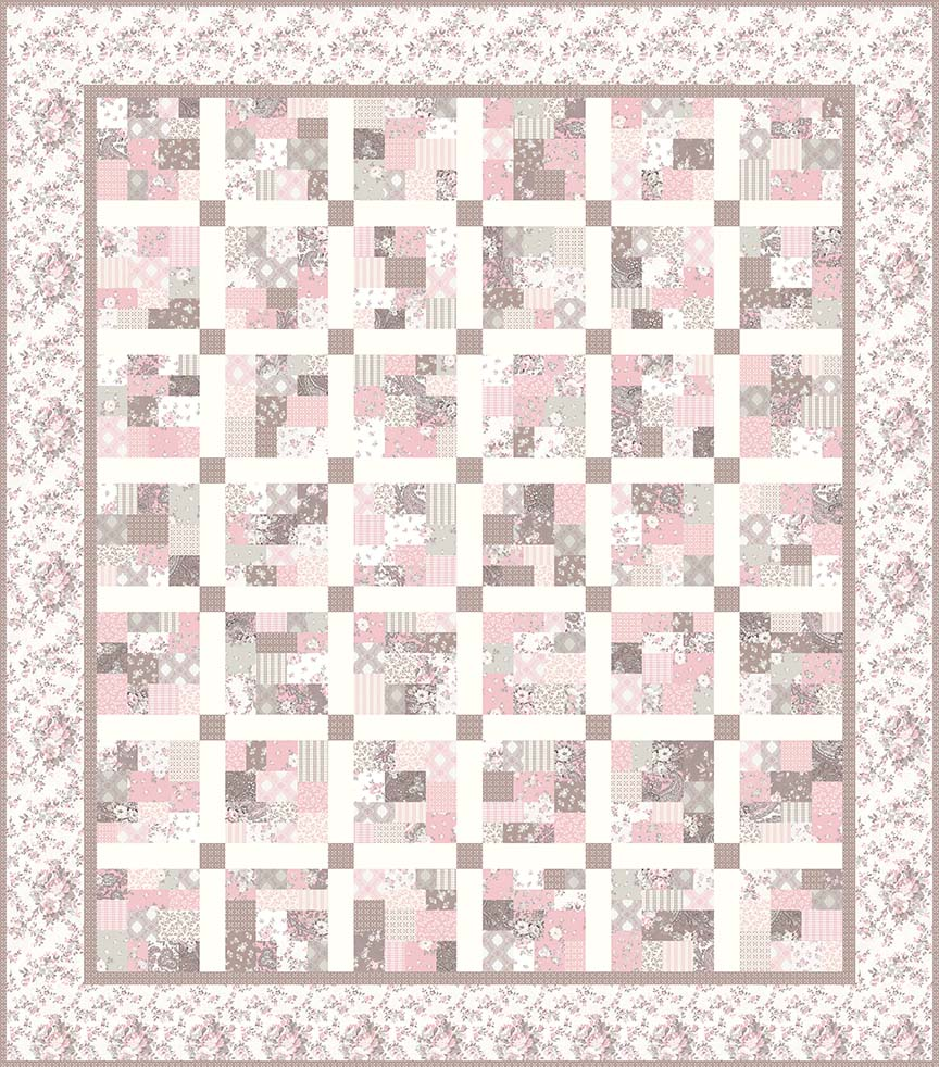 p124-Leah Quilt Pattern Planted Seed Designs - Gerri Robinson