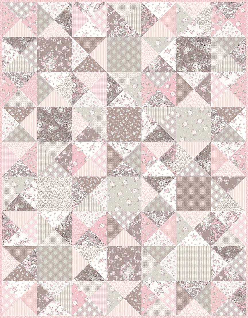 P124 Sophia Quilt Pattern Planted Seed Designs