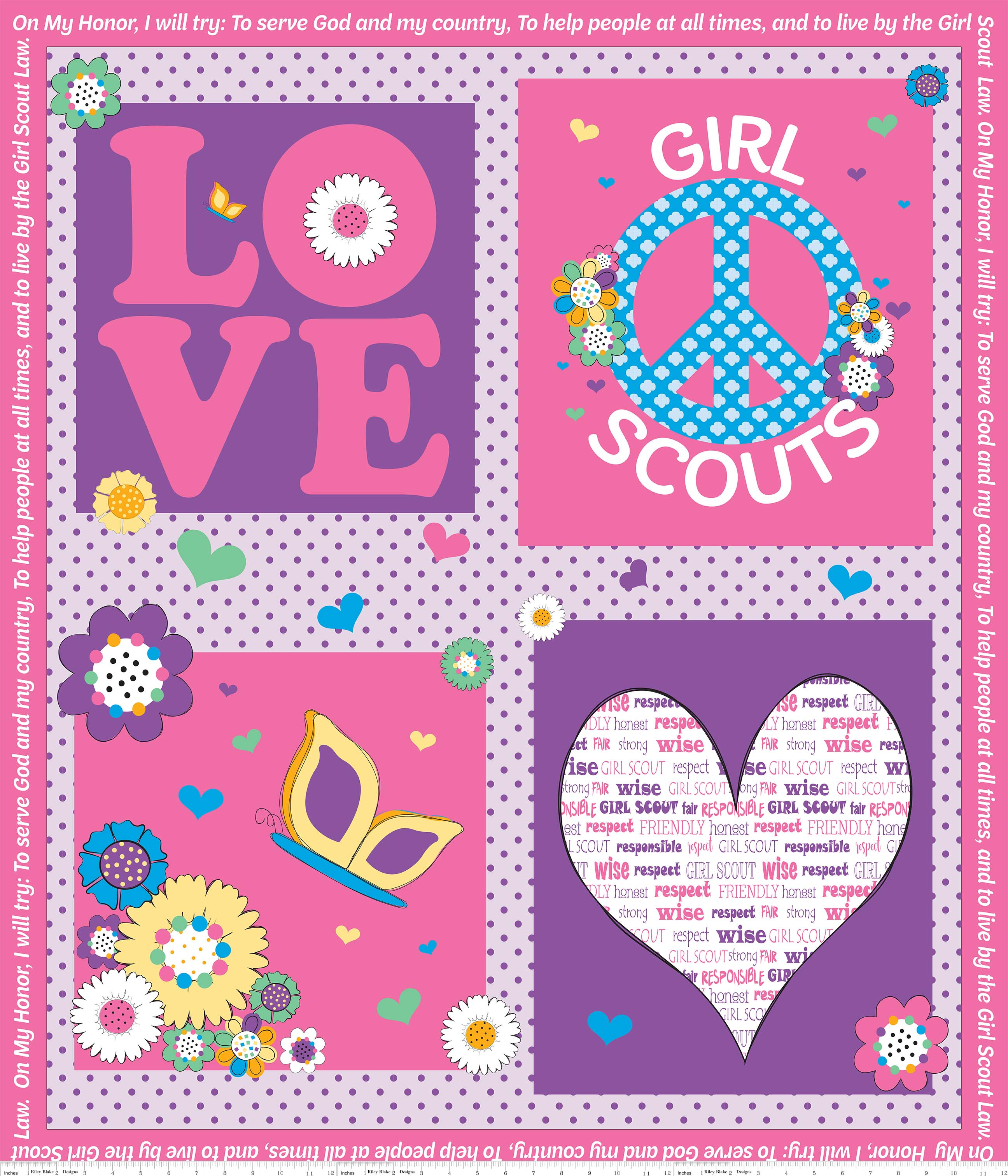 Pink Girl Scout? Panel