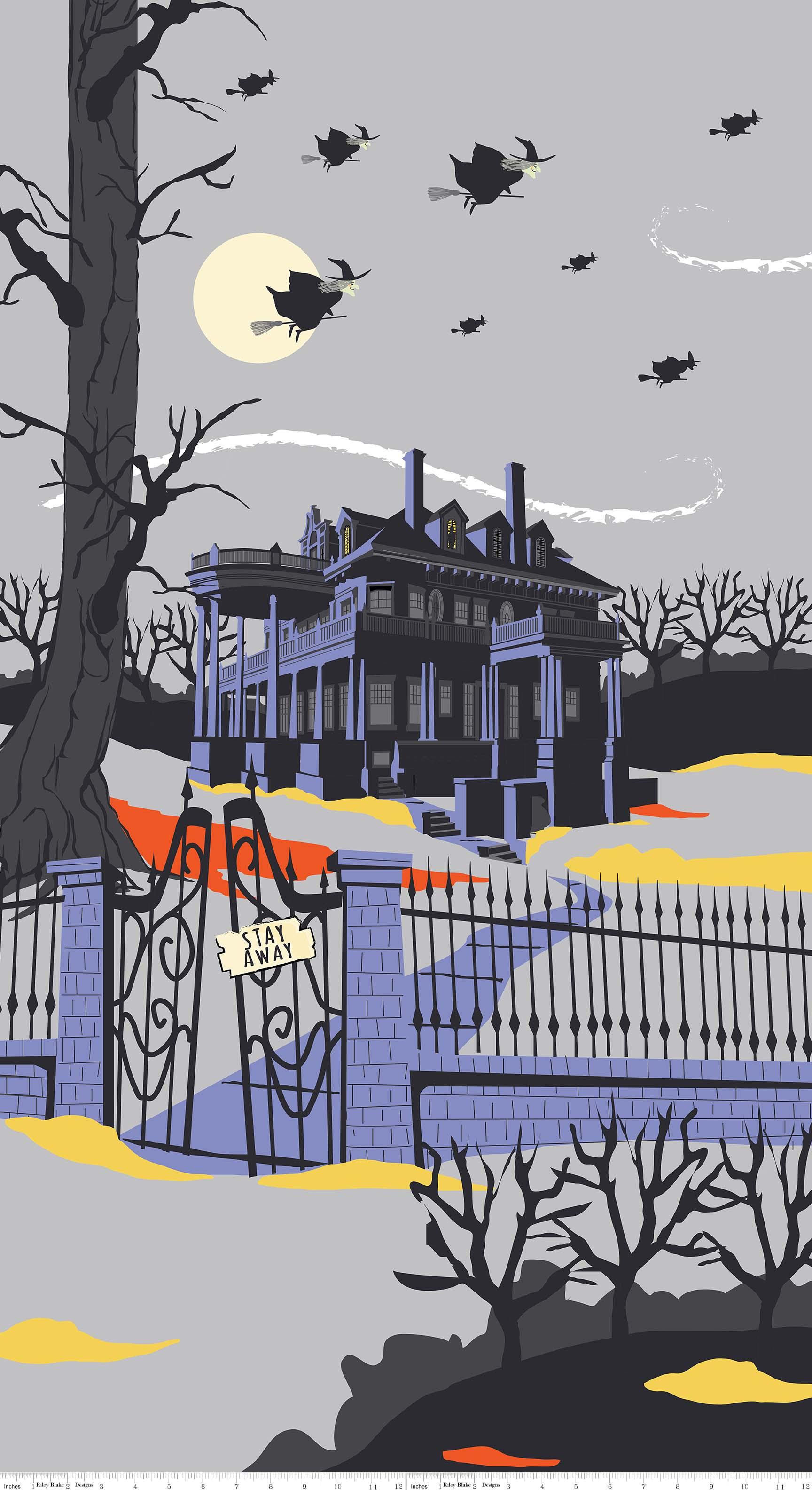 Panel 469:  House Gray - Haunted House