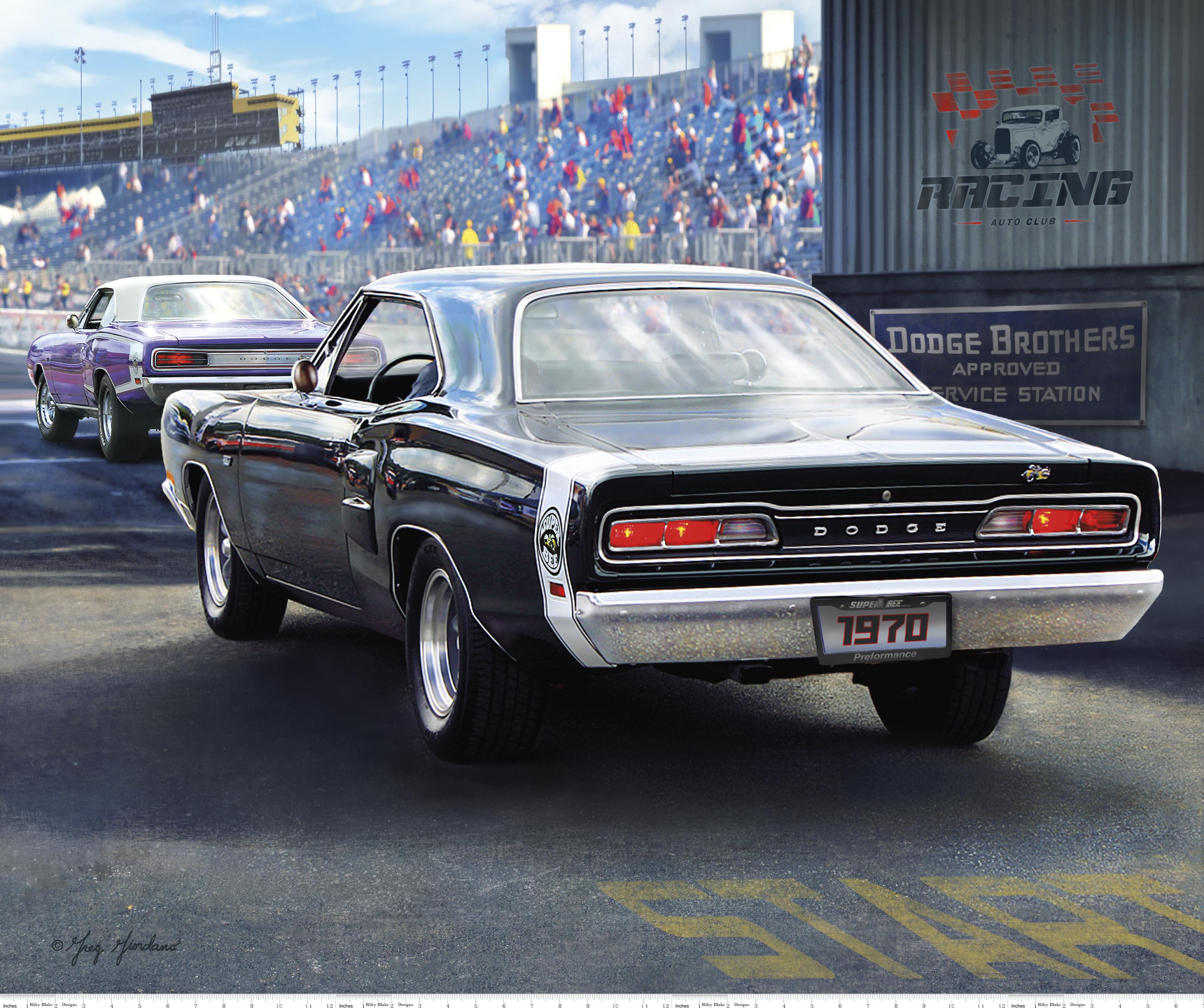 1970 Dodge Super Bee Panel