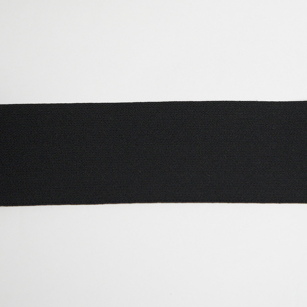 Elastic Waistband- 2 Black