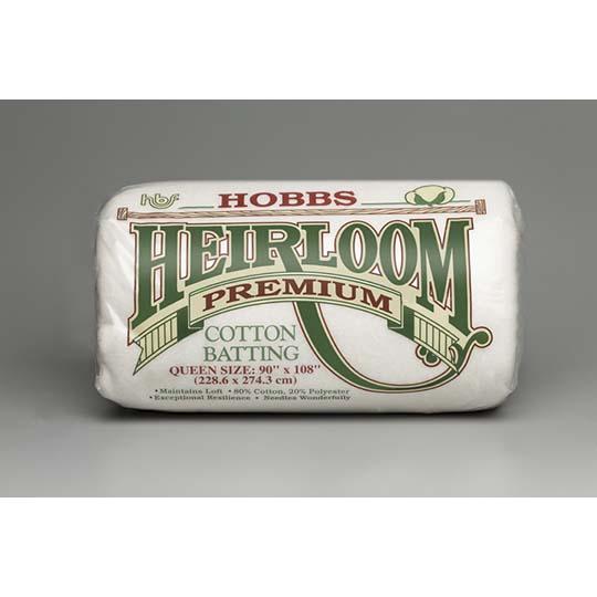 HOBBS Batting Heirloom Premium Cotton Blend 45in x 60in # HHL45