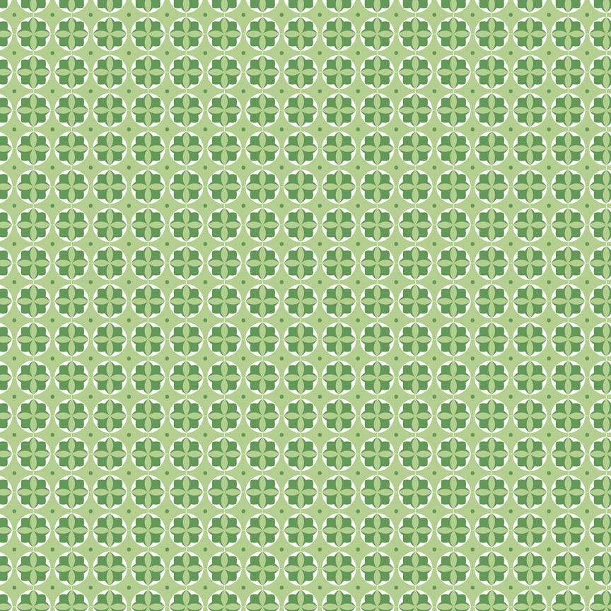 Mini Modern Circles GREEN by Lori Holt