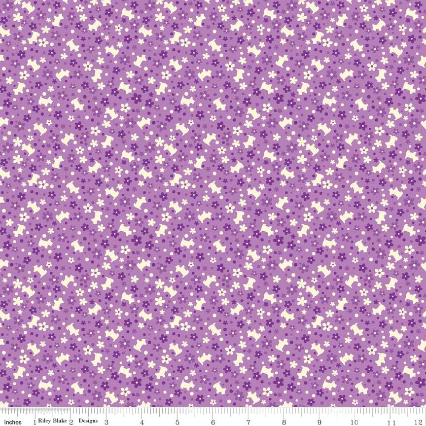 Toy Chest Scotties Purple