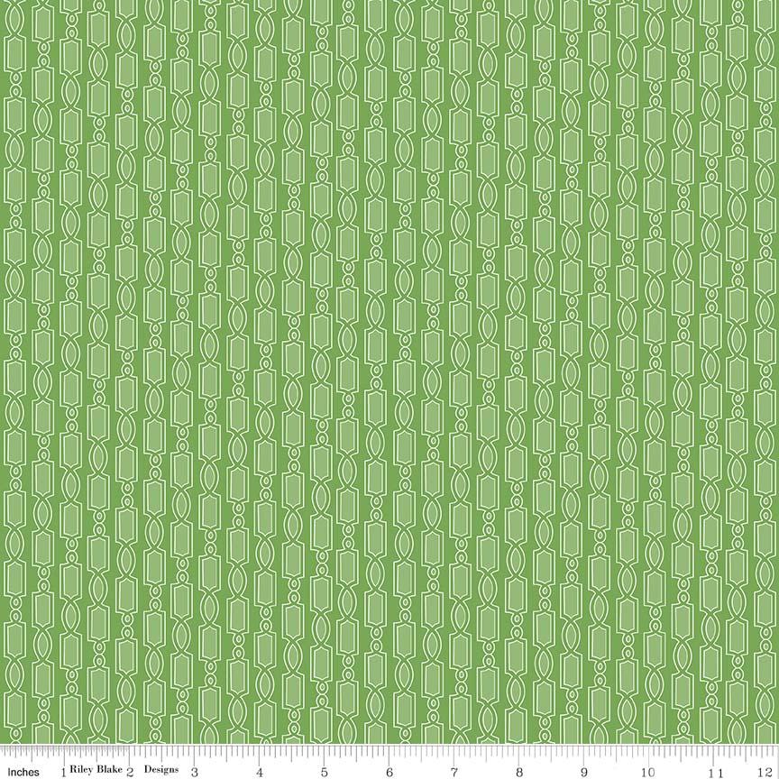 Austen Geometric Green